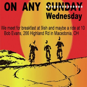 Ride On Any Wednesday – AGAIN