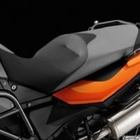 Comfort seat for F650GS, F700GS, F800GS
