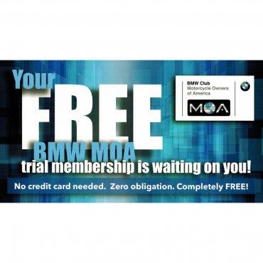 BMW MOA Free Trial