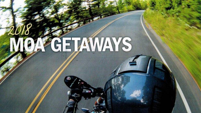 MOA Getaways for 2018