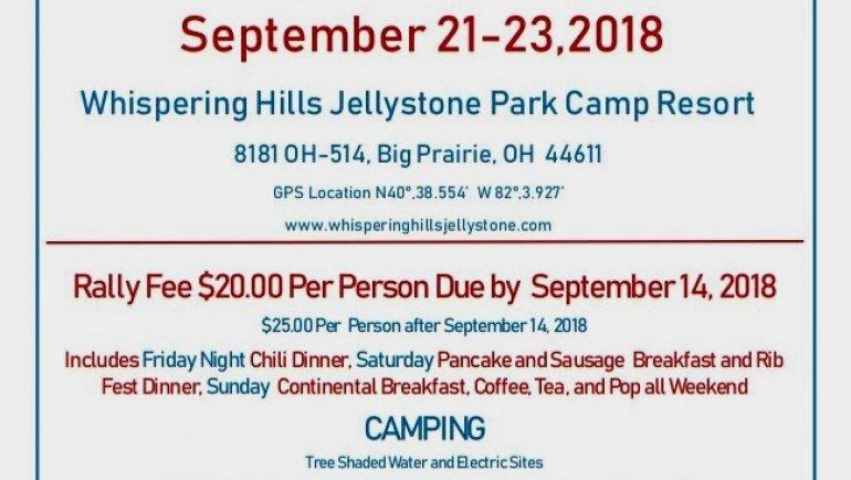 Fall Ribfest Sep 21 – 23, 2018