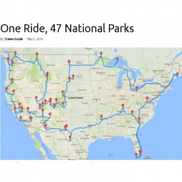 One Ride 47 Parks