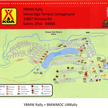 YBMW UNrally, Salem, Oh Sep 17 – 19