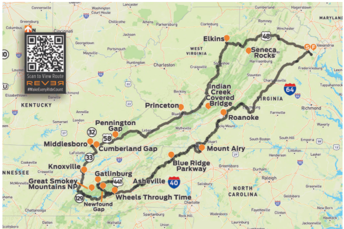 Lapping the Appalachians